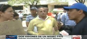 El conmovedor debate de una maestra y un motorizado en Altamira (Video)