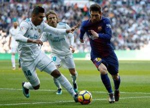 Ya lo extrañan: Casemiro dice que Messi es una gran pérdida para el clásico