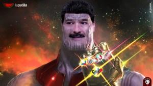 """Nicolhano: Supervillano del """"Universo Bolivariano"""" que quiere acabar con todos (fotomontaje @_CALAVERA_)"""