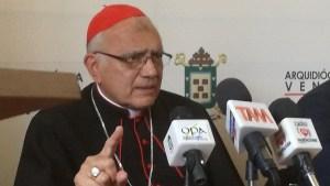 "Cardenal Baltazar Porras recalcó que show electoral del régimen ""no es normal"" (Video)"