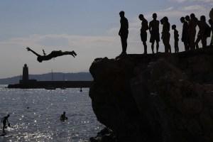 EN FOTOS: Europa se achicharra con la ola de calor