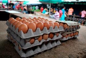 Diez meses de trabajo cuesta un cartón de huevos