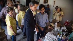 Persecuciones y amenazas no impidieron el avance de Guaidó para lograr el ingreso de ayuda humanitaria