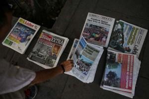 La pandemia acelera el final de la prensa en papel, pero dispara la digital