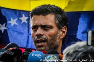 Leopoldo López condenó el chantaje chavista para aumentar asistencia al fraude electoral