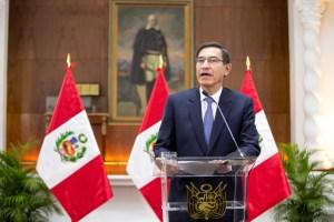 Comenzó el juicio político contra el presidente Martín Vizcarra en el Congreso de Perú