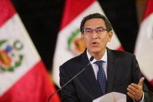 Martín Vizcarra convocó a elecciones generales en Perú con miras al 2021