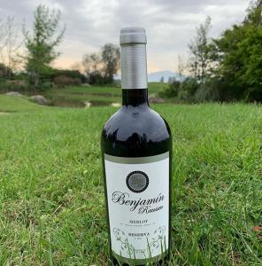¿Adivina quién lanzó al mercado su propio vino? (Fotos)