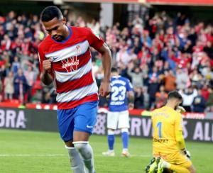 El venezolano Yangel Herrera marcó un golazo en el debut del Granada en Europa League (VIDEO)