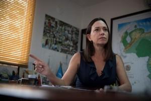 María Corina: Así como ese CNE no puede legitimar un partido, tampoco puede quitarlo ese TSJ