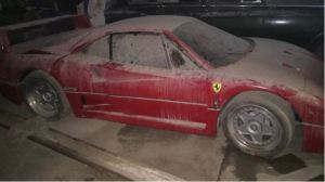 Cómo el Ferrari del hijo de Saddam Hussein sobrevivió a la furia del dictador