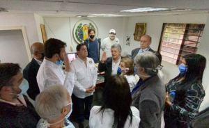 Acción Democrática juramentó a Carlos Prosperi como su nuevo Secretario Nacional