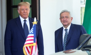 Trump y López Obrador no hablaron sobre inmigración ni fronteras en su reunión
