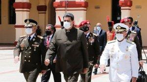 Nicolás Maduro pasó a retiro a toda la promoción de Diosdado Cabello (Fotos)