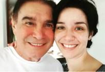 Las primeras palabras de Daniela Alvarado tras la muerte de su padre