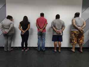 Privan de libertad a presunto proxeneta y a cuatro sujetos por trata de menores