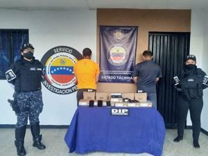 La PNB detuvo a dos hombres en San Cristóbal con 12 decodificadores colombianos de DirecTV