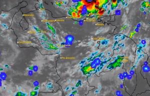 El estado del tiempo en Venezuela este martes #4Ago, según el Inameh