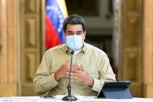 """Maduro, para lavarse las manos, volvió a referirse al Covid-19 como el """"virus colombiano"""""""
