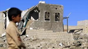 Bombardeo aéreo en Yemen provoca 20 muertos, entre ellos 7 niños