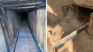 Descubren en EEUU un sofisticado túnel transfronterizo para contrabando con sistema de ventilación y cableado eléctrico