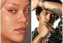 No quiere hacer más música: Bruno Mars desea ser modelo en la marca de Rihanna