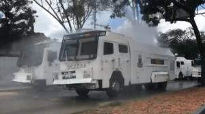 GNB desinfecta los alrededores del mercado municipal de Coche #4Ago (video)