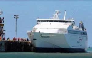 Tripulación del ferry Paraguaná I en cuarentena en Vargas y suspenden operaciones ruta La Guaira – Margarita por Covid-19