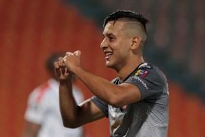 Anderson Contreras lideró monumental triunfo del Caracas FC ante Deportivo Independiente de Medellín