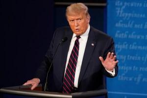 Trump anuncia su intención de participar en debate electoral el #15Oct