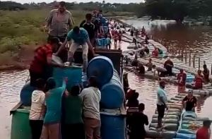 Así es el contrabando desde Colombia hacia una Venezuela sedienta de gasolina (Video)