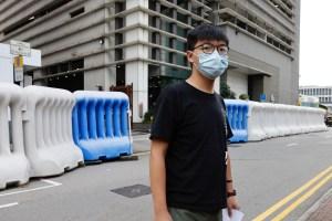 Joshua Wong y otros dos activistas prodemocracia condenados a penas de cárcel por protestas en Hong Kong
