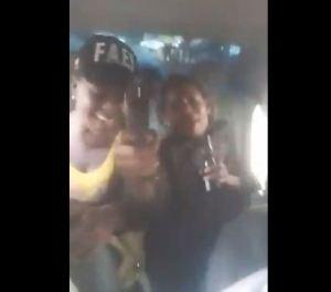 """Con armas, bebidas y al grito de """"las Faes"""" se divierten presuntos funcionarios (VIDEO)"""
