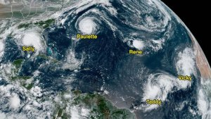¡Histórico! Se desarrollan cinco ciclones en el Atlántico al mismo tiempo