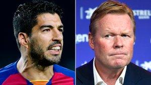 Koeman dio un giro inesperado sobre el futuro de Luis Suárez en el Barcelona