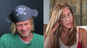 """""""Creo que eres tan sexy"""": Así fue el coqueteo entre Brad Pitt y Jennifer Aniston a 15 años de su separación"""