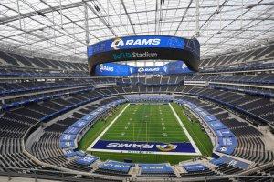 BRUTAL: El estadio más caro de la historia se inauguró en Los Ángeles para la NFL (Fotos y Videos)