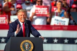 Piratearon brevemente la página de campaña de Donald Trump