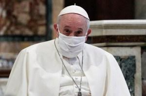 Papa Francisco asistió al funeral de su médico personal fallecido por Covid-19