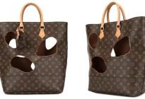 Ponen a la venta un bolso de Louis Vuitton de segunda mano con agujeros y no creerás su precio