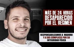 Denuncian la desaparición de Gerardo Yanes, miembro del equipo de Juan Guaidó