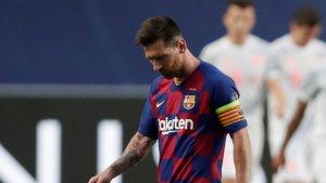 Koeman contó cómo se encuentra Messi tras su expulsión