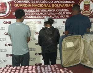 Atraparon a una fiscal del MP con más de dos mil pastillas de éxtasis en Delta Amacuro (Fotos)