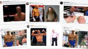 """""""Tyson a los 54, yo a los 25"""": Los mejores memes que dejó el regreso de la leyenda al boxeo por su notable estado físico"""