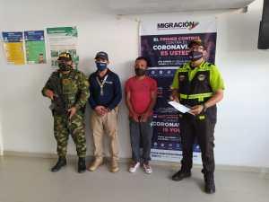 Colombia expulsa a sargento venezolano que se encontraba en condición irregular en el territorio nacional (Fotos y Video)