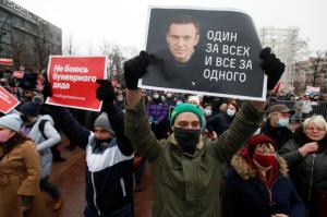 Oposición rusa convoca manifestaciones en apoyo a Navalny para semana próxima