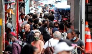 Brasil ya está cerca de los 18 millones de casos por coronavirus