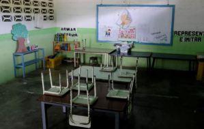 Al menos siete de cada diez escuelas públicas en Venezuela tienen fallas con el servicio de agua potable