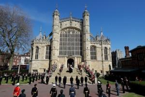 Revelan la impresionante cantidad de personas que siguieron en vivo el funeral del duque de Edimburgo