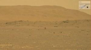 Las nuevas FOTOS a color tomadas por helicóptero Ingenuity de la NASA en Marte